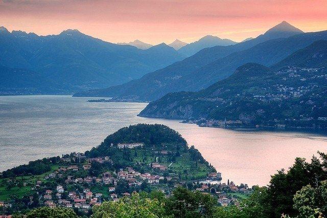 Озеро Комо, Италия.