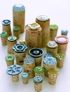 Knopfstempel - button stamp