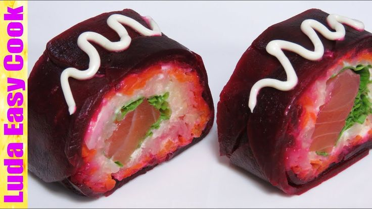САЛАТ-РОЛЛ ШУБА ПО-НОВОМУ Новогодние салаты 2018 | Tasty Salad Recipes f...