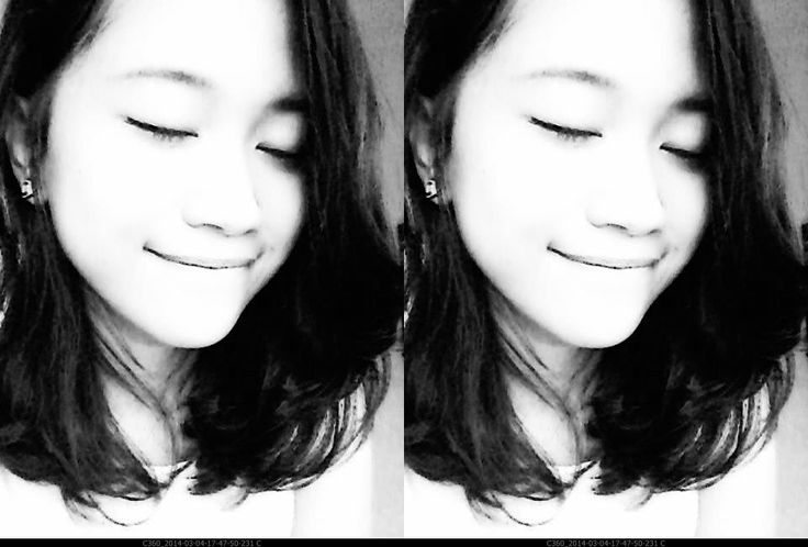 in black and white ~