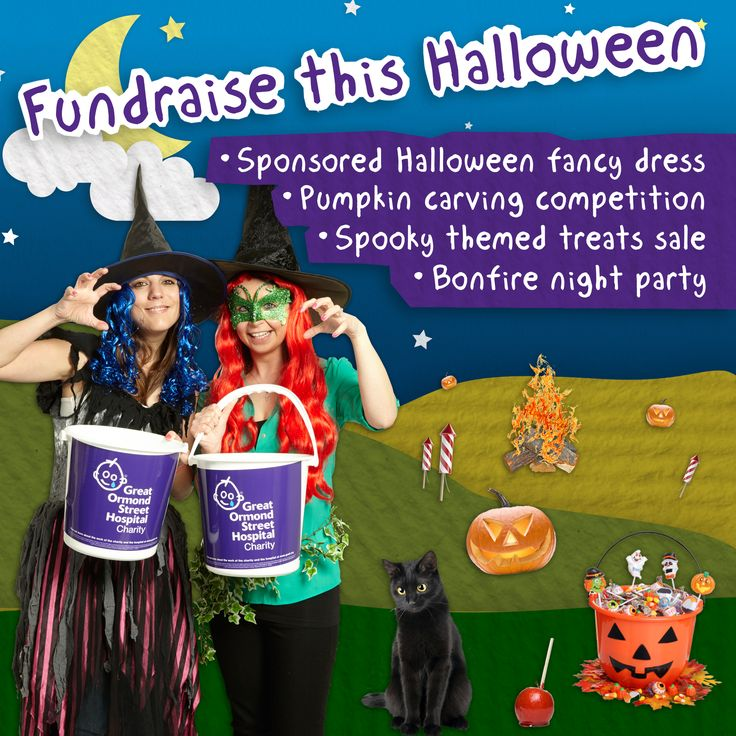 are you celebrating halloween add fundraising to your event to help patients at great ormond fundraising ideascharity - Halloween Fundraiser Ideas
