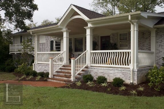 Front porch diy home decor pinterest places the o - Homes front porch designs pictures ...