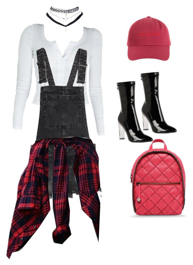 """""""black X white X red X pablo"""" by alexannaloro on Polyvore featuring Wet Seal and STELLA McCARTNEY"""