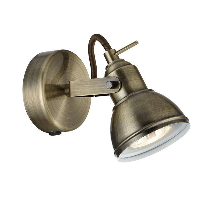 Searchlight 1541AB Focus Antique Brass 1 Lamp Vintage Spot Light. The Searchlight 1541AB is part of the Spot Lighting range. Buy Searchlight 1541AB.