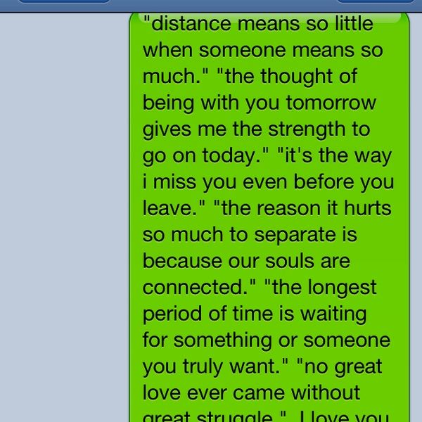 long distance relationship quotes i sent to my bf found