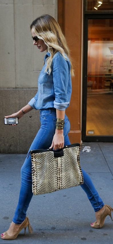 All The Cool Girls Wear Denim                                                                                                                                                                                 More