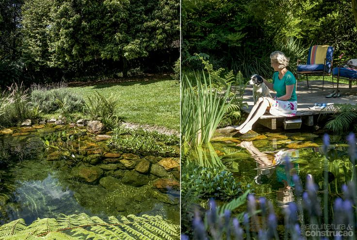 Como fazer uma piscina natural - Casa