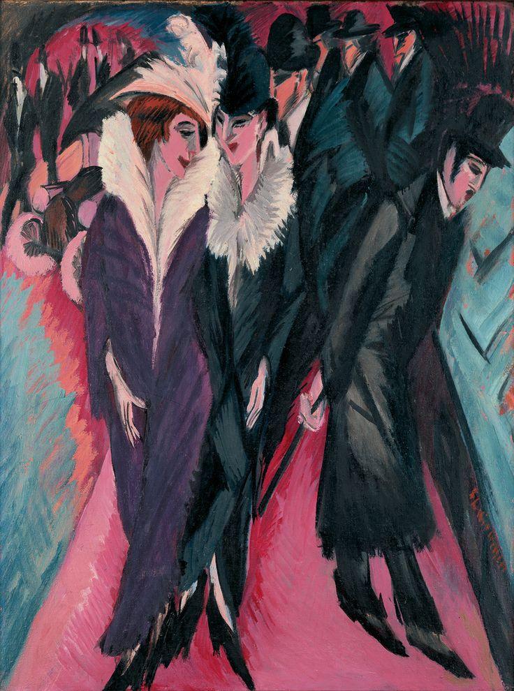 Kirchner - Street, Berlin (1913)
