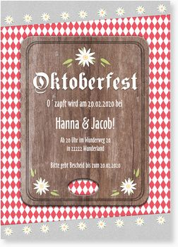 38 best oktoberfest images on pinterest | oktoberfest party, Einladung