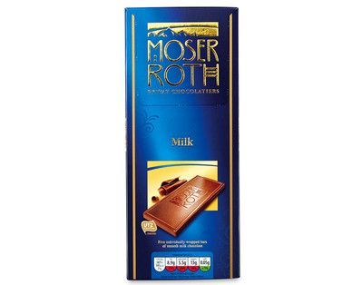 MOSER ROTH chocolate best ever made in Germany