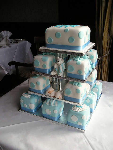 #Christening #cubes created by Cannaboe Confectionery Check out more #christening #cakes for your little ones special day or as a #unique #gift at http://www.cacamilis.ie/christening/