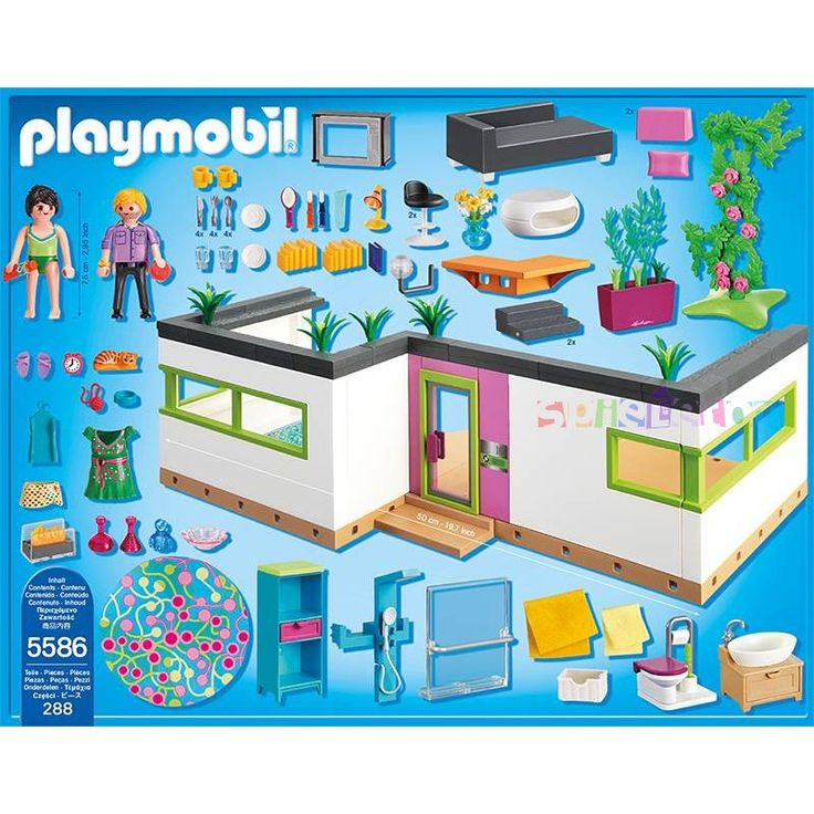 34 best Playmobil luxe villa images on Pinterest | Fork, Mansion and ...