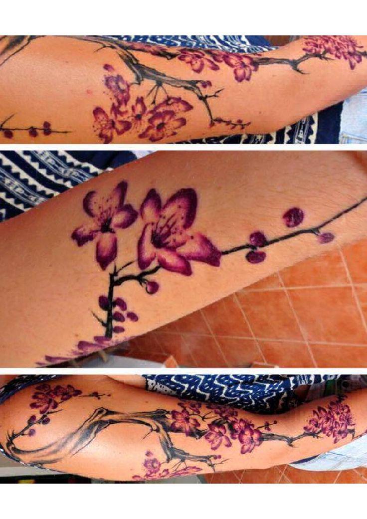 Cherry Blossom tattoo sleeve