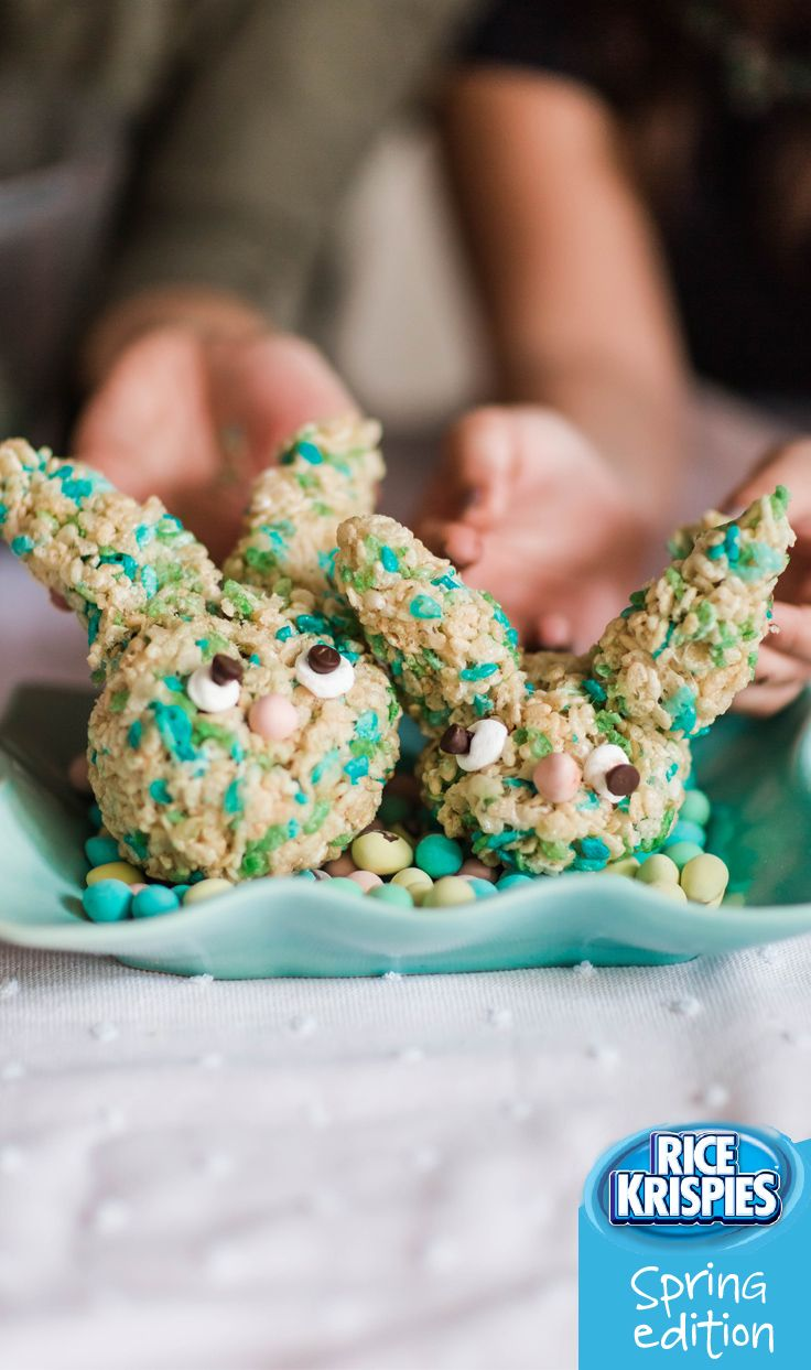 22 best easter treats images on pinterest rice krispies easter create these adorable treats with your favourite little helper use rice krispies spring edition easter gifteaster negle Images