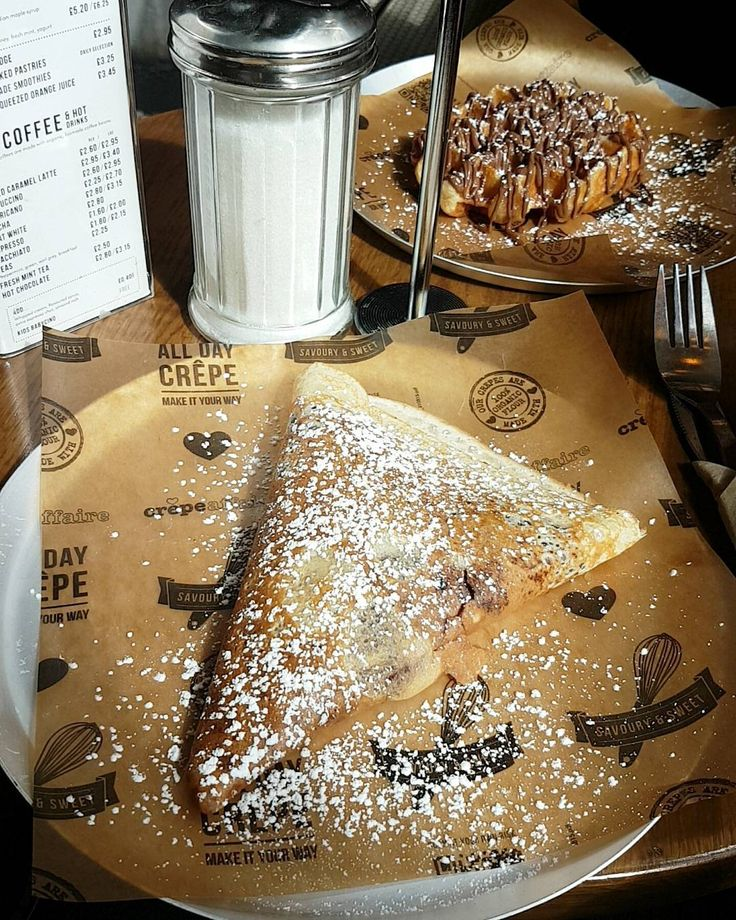 "71 Likes, 7 Comments - Becky (@uptownoracle) on Instagram: ""Having a Crepe Affaire... 💕"""