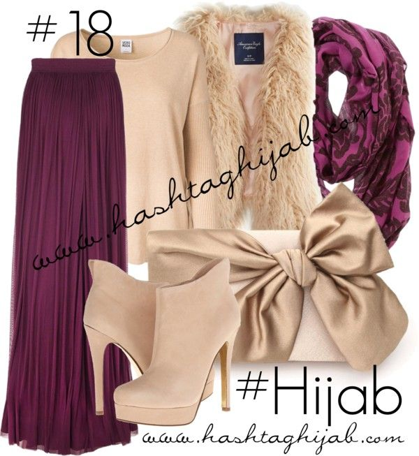 Hashtag Hijab Outfit #18 by hashtaghijab featuring a cream vestVero Moda longsleeve shirt€12 - veromoda.comAmerican Eagle Outfitters cream vest€33 - ae.comAmanda Wakeley ruched skirt€610 - amandawakeley.comChinese laundry booties€88 - zappos.comWedding purse€63 - etsy.comAmerican Eagle Outfitters floral scarve€15 - ae.com