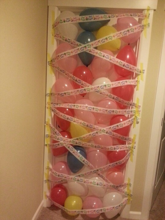 Balloon Avalanche for my daughter's 9th birthday!
