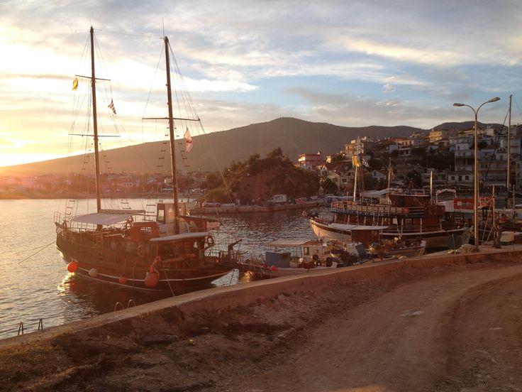 limenaria harbour greece