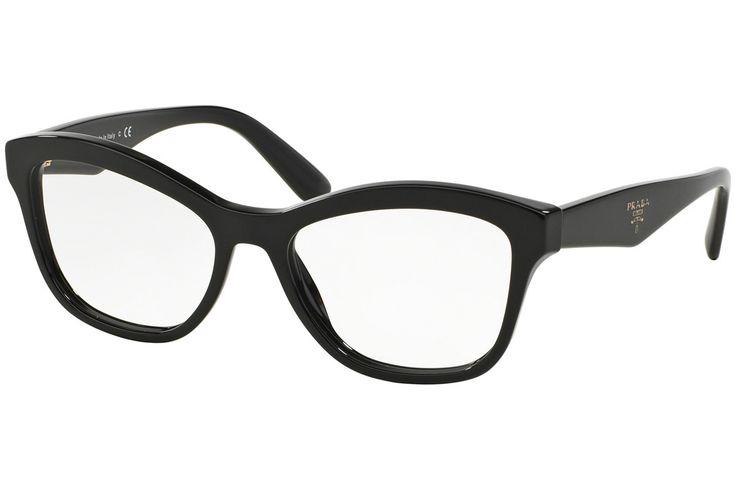 Prada PR29RV 1AB1O1 Dioptrické okuliare Čierna
