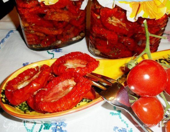 Вяленые помидоры — пикантная и очень вкусная заготовка на зиму. Их приготовление в электросушилке совсем не обременительно. В основном время тратится на подготовку томатов и их консервирование. Все...