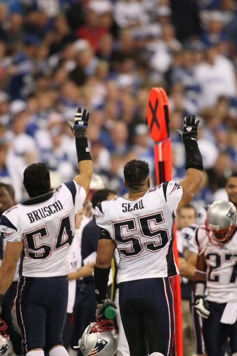 Best of Tedy Bruschi and let's not forget Junior...I love these guys! It was so sad to see them retire.