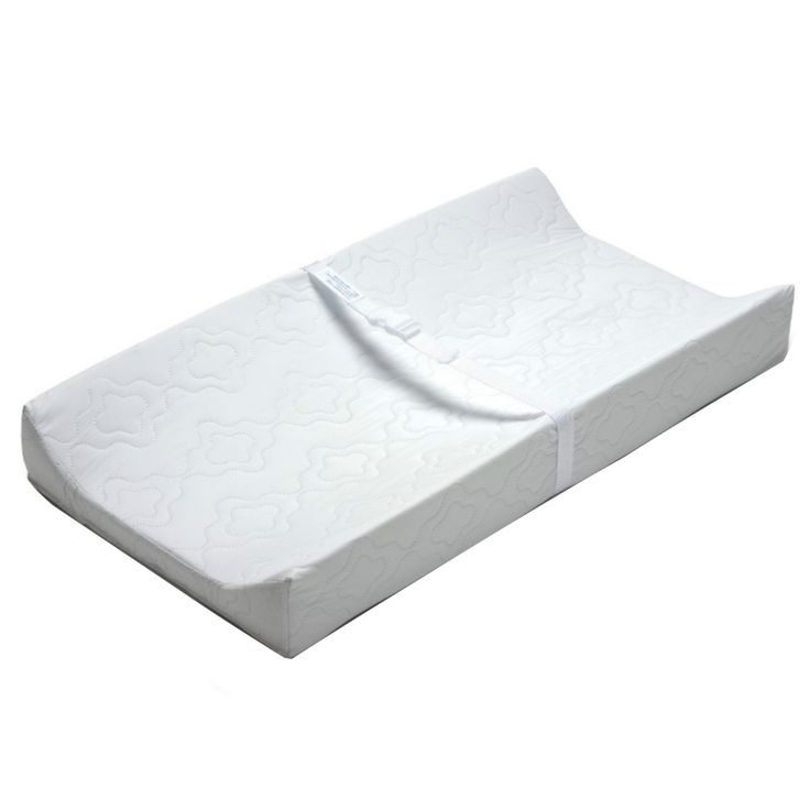 The Contour Changing Pad is designed to offer baby ultimate comfort and their parent easy cleaning and peace of mind. This pad fits almost any change table or dresser and its high walls help prevent baby from rolling too far in either direction.