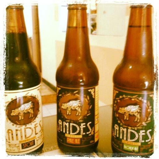 Cerveza artesanal Andes #Ecuador