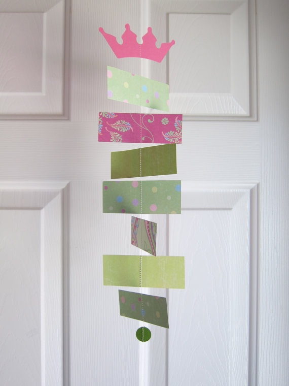 Princess and the Pea Garland Decorations -- I just liked this one... -KE