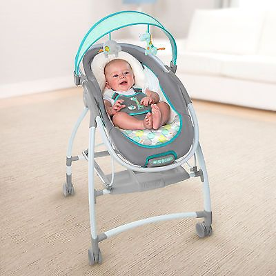 Baby Bouncer Seat Mobile Lounger Infant Newborn Vibration Portable Sleeper NEW