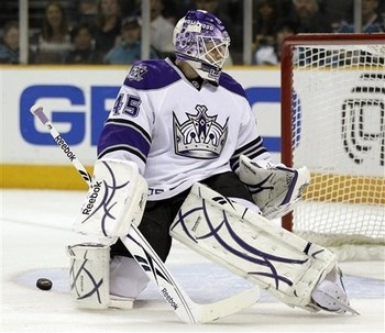 Jonathan Bernier.  Burke!  Get it done.  Grabbo and a pick for him and Penner's awful deal.  Reims and Monster are killing your teflon shield!