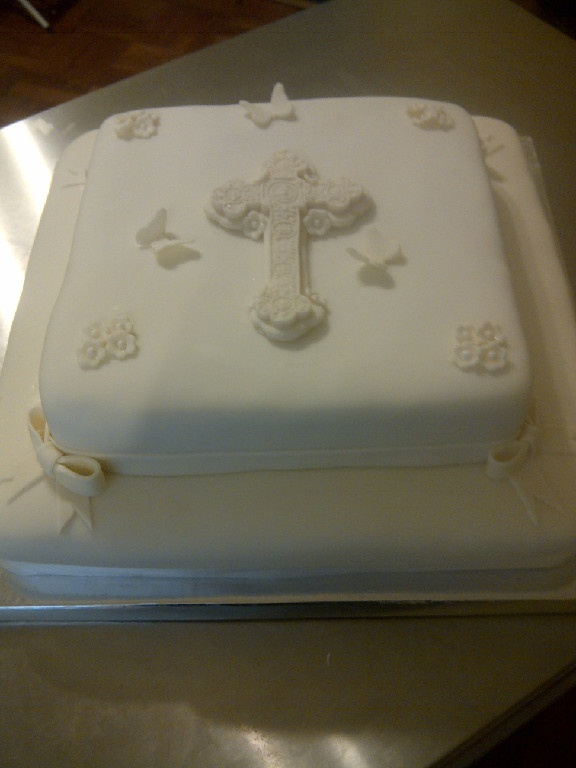 1000 Ideas About Simple Baptism Cake On Pinterest