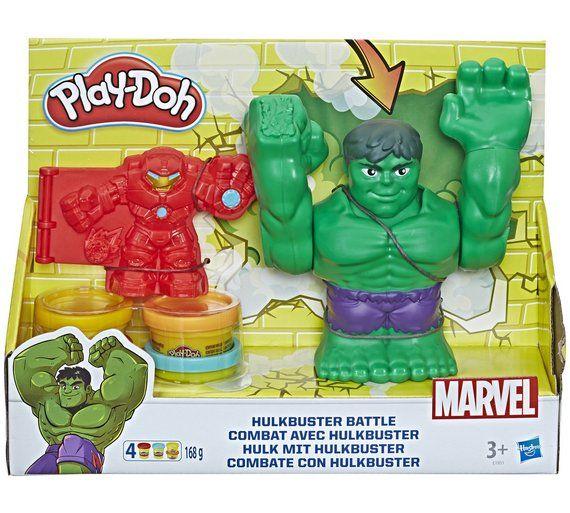 Play Doh Marvel Hulkbuster Battle Play Doh Marvel Hulkbuster