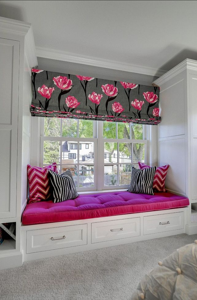 Perde modelleri. Window-seat Ideas. Great Kids Window-seat idea! #WindowSeat …