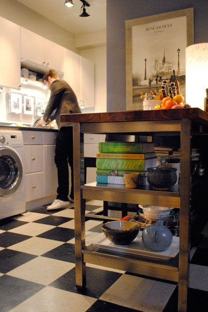 Want to add a chopping board to the top of my kitchen trolley like this