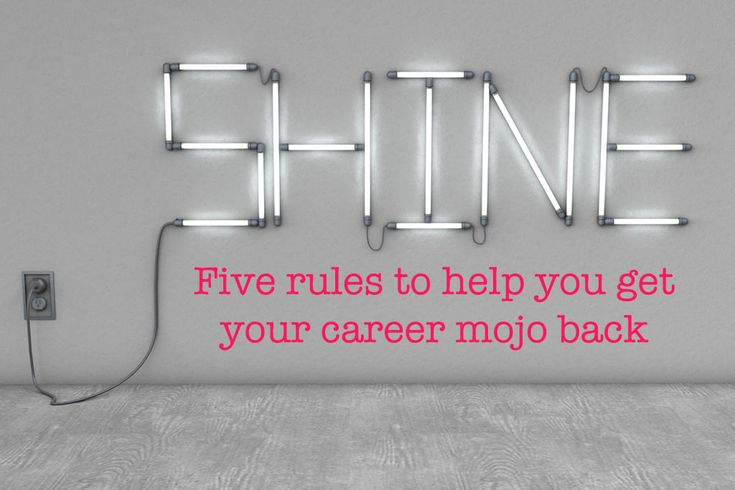 Five rules to help you get your career mojo back after a baby - Talented Ladies Club #talentedladiesclub
