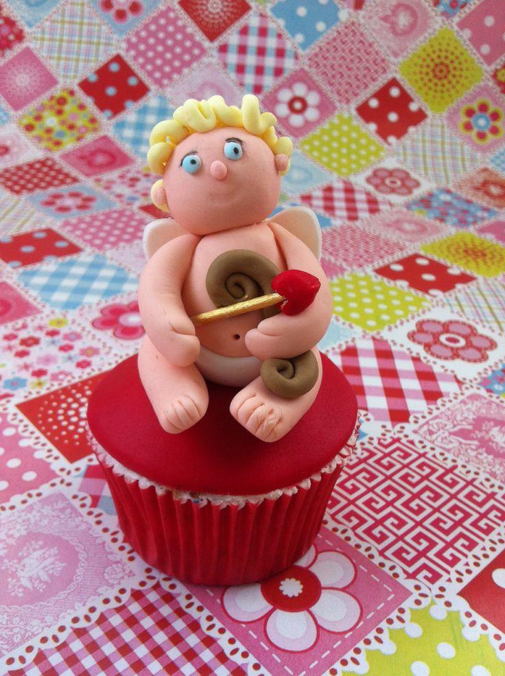 Cupido cupcake