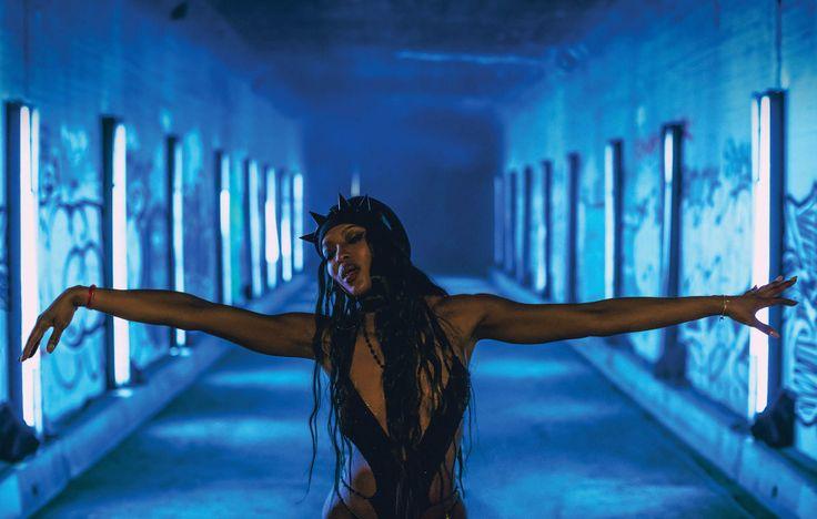 Beautiful and graceful superstar Naomi in Anohni's video #gloriafx #vfx #naomicampbell #anonhi #riccardotisci #givenchy #beatywork
