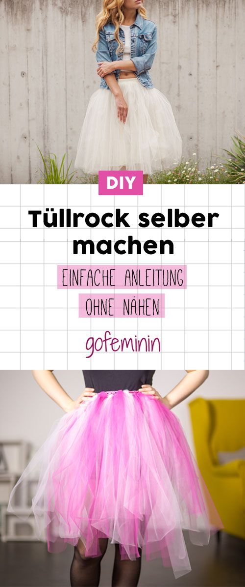 Tutu tinker: You can make this tulle skirt yourself without sewing!