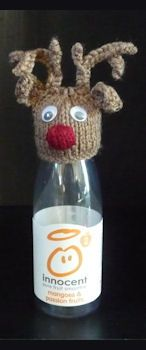 Innocent Smoothies Big Knit Hats - Reindeer