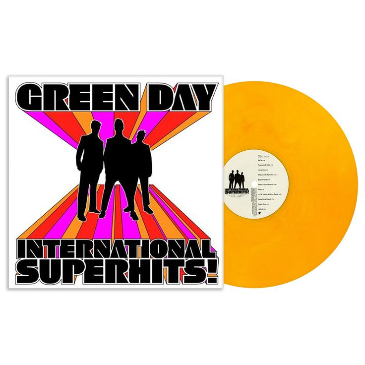 Lazy Labrador Records - Green Day · International Superhits! · LP · Orange, $84.99 (http://lazylabradorrecords.com/green-day-international-superhits-lp-orange/)