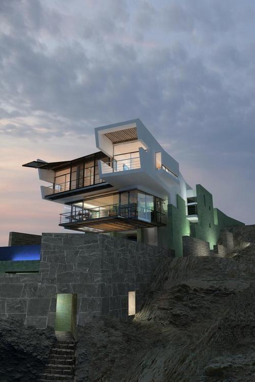 Lefevre Beach House, Longhi Architects