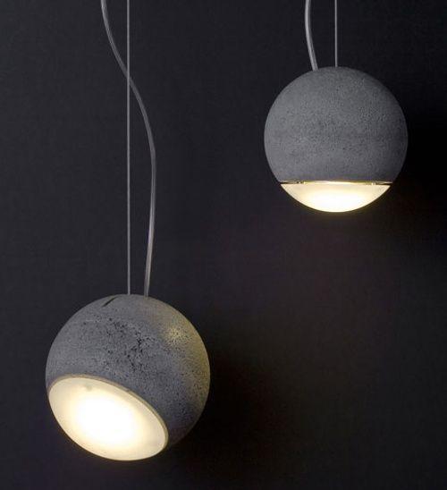 Lámpara de Concreto Trabant