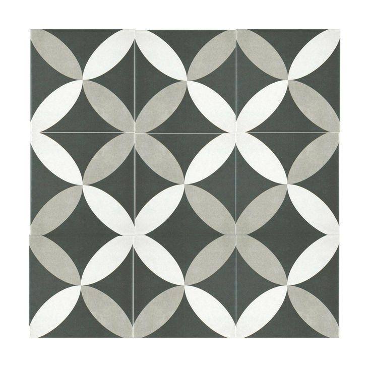 Twenties Petal Ceramic Wall and Floor Tile