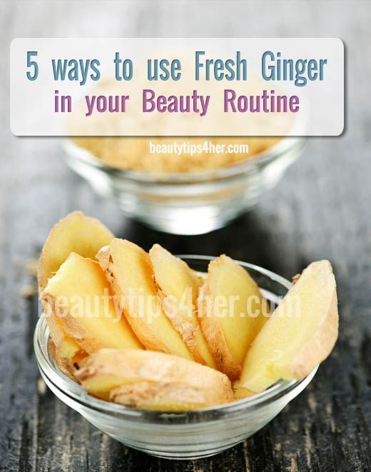 5 Awesome Ways to Use Fresh Ginger in Your Beauty Routine | DIY Beauty Skincare and Health Tips