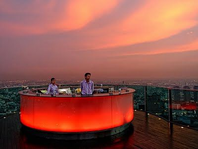 Cool Bars with a view ~ Bangkok