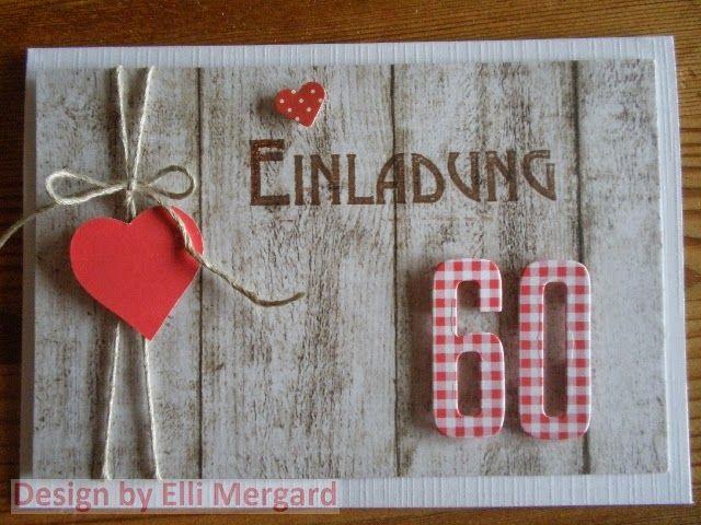 Ellis Eventkarten: Einladungskarte zum 80. Geburtstag in grün