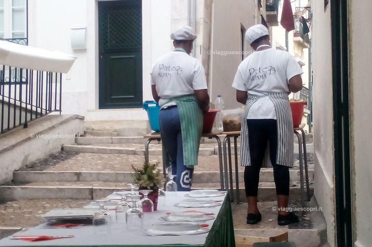 Ristorante all'aperto, Lisbona gay #gaytravel #mygaypride