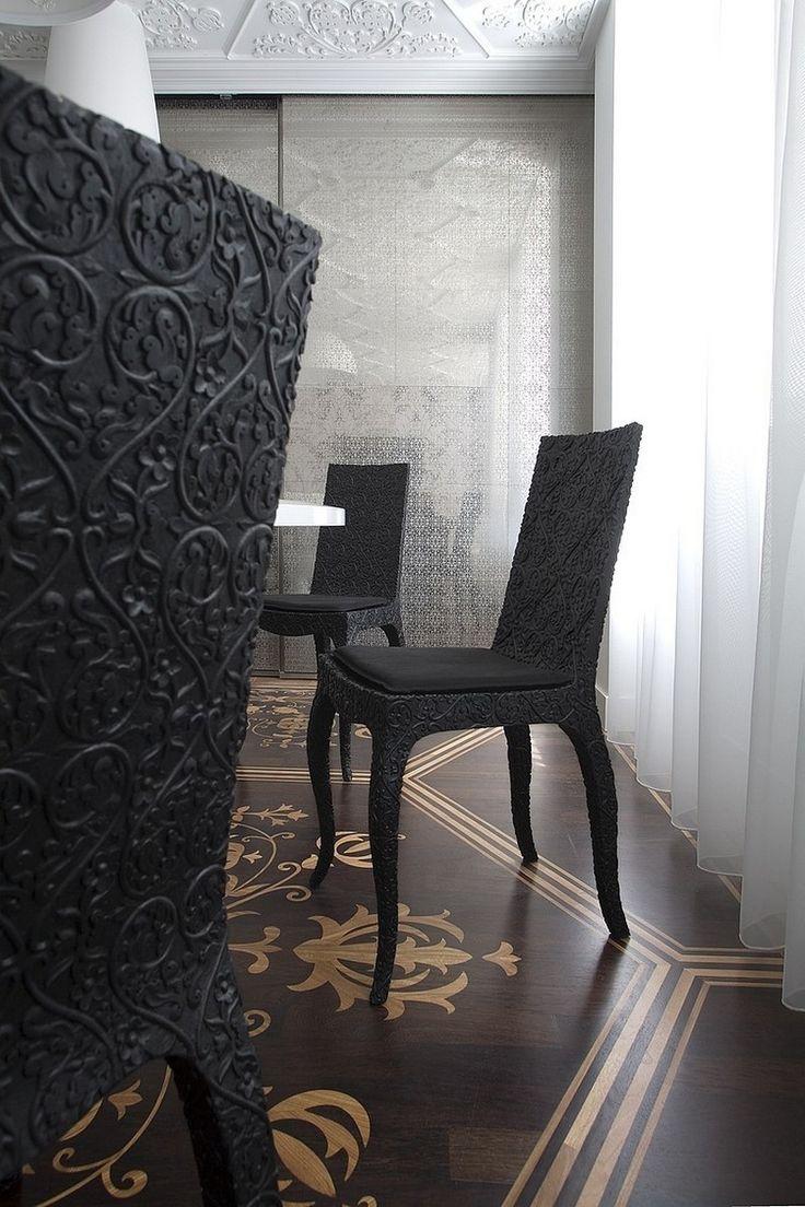 Neo Baroque Furniture Design Apartment In Amsterdam
