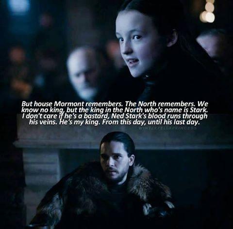 Lyanna Mormont is my new favorite.