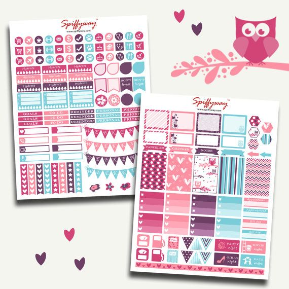 April Planner Stickers  Planner Stickers Kit  by Spiffyway on Etsy https://www.etsy.com/listing/260129480/april-planner-stickers-planner-stickers?ref=shop_home_feat_3